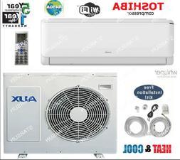 12,000 BTU AC Air Conditioner, Heat Pump Mini Split 220V 1 t