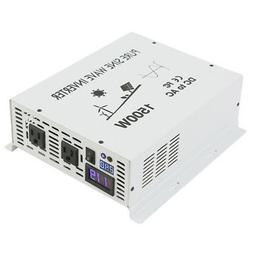 12V DC to 120V AC Pure Sine Wave Inverter 1500W Powe Inverte