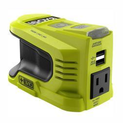 RYOBI 150-Watt Powered Inverter Generator 18-V 2 USB 120-V W