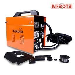 160 MIG Welder Inverter Flux Core Wire Gasless Automatic Fee