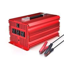 BESTEK 2000W/4600 Watt Power Inverter 12V DC to 110V AC Adap