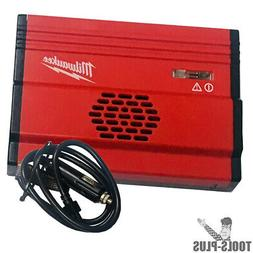 Milwaukee 23-37-0010 Power Inverter 120v AC Out 150W Run - 3