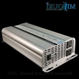 Aims 2500 Watt 12 Volt DC to AC Modified Power Inverter with