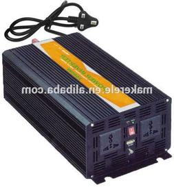 2500W DC12V to AC220V Pure Sine Wave Power Inverter DC10A Wi