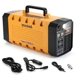 Aeiusny Generator Portable Power UPS 288Wh 500W for Home Cam