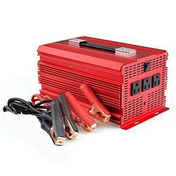 BESTEK 2000W Power Inverter 3 AC Outlets DC 12V to 110V AC C