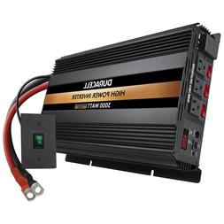 Duracell 3000 Watt High Power Inverter, , 6000W of Peak Powe