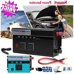 3000W/4000W Peak Car Power Inverter DC to AC Sine Wave USB C
