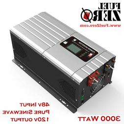 3000W / 9000 Watt 48v Pure Sine Low Frequency 110/120v Inver