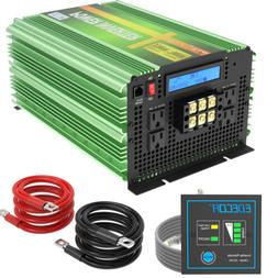 3500W 7000 Watt Power Inverter Pure Sine Wave 12V dc to 110V