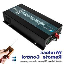 3500W Pure Sine Wave Power Inverter 24V to 120V 7000W Surge