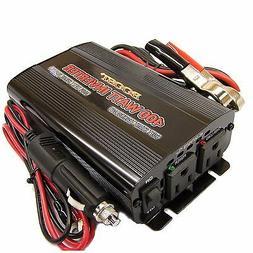 BOOST 400 w 1000 WATT peak PORTABLE 12 v DC TO 110 120 volt