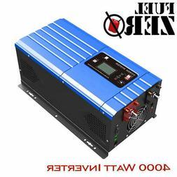 4000W / 12000 Watt 24v Pure Sine Low Frequency 110v Inverter