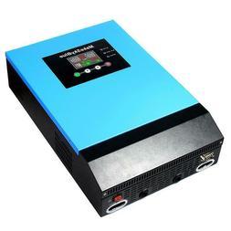 MakeSkyBlue 48V 5KVA/4200W 240VAC  Hybrid Pure Sine Wave MPP