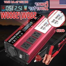 5000w car power inverter 12v dc to