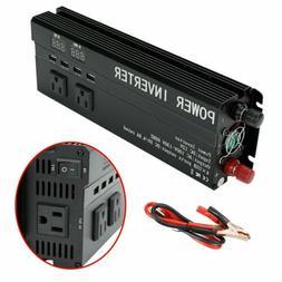 5000W Peak Car Power Inverter Modified Sine Wave Watt 12V to