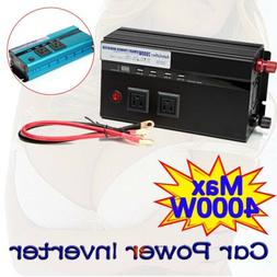 500W-4000W Car Vehicle Power Inverter Converter DC 12v to AC