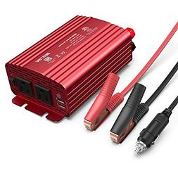 BESTEK 500W Power Inverter DC 12V to 110V AC Converter with