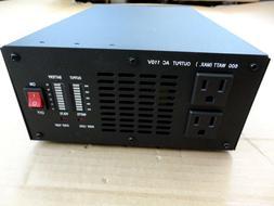 600 Watt Pure Sine Wave Power Inverter, 1200 Watt Peak 12V D