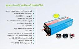 GOWE 6000W/6KW 24V dc to 220V/240V ac Pure Sine Wave Power I