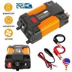 6000W Peaks Power Inverter 12V DC TO 110V AC Car Power Solar