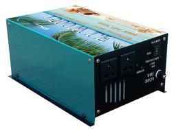 6000W surge power LF pure sine wave power inverter dc 12V/ a