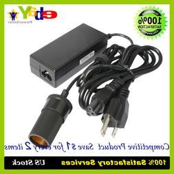 60W Vehicle Power Inverters 110V AC to 12V DC Car Cigarette