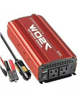 Potek 750W Power Inverter Dc 12 V To Ac 115V Converter With