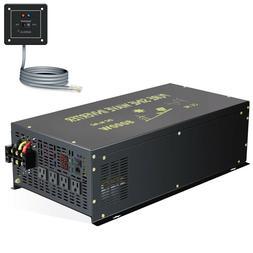 8000W Pure Sine Wave Inverter 48V to 110V Solar Wind Off Gri