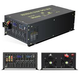 8000W Pure Sine Wave Power Inverter 48V to 120V Solar Off Gr