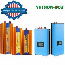 12 DIFFERENT OFF GRID/GRID TIE POWER INVERTER 2000W 1500W 10