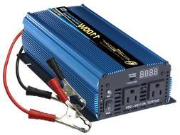 Power Bright PW1100-12 Power Inverter 1100 Watt 12 Volt DC T