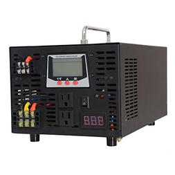 WZRELB Single Phase 2000W 12V 120V Pure Sine Wave Inverter C