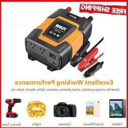 Ampeak 750W Power Inverter 12V DC to 110V AC Converter with