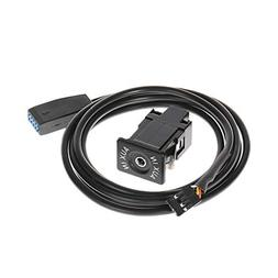 Numkuda AUX In USB Socket Car CD Changer Replacement Cable H