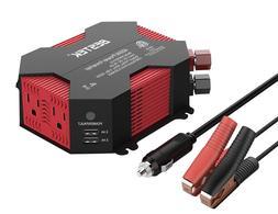 BESTEK Car 400W Power Inverter DC 12V AC 110V Charger Adapte