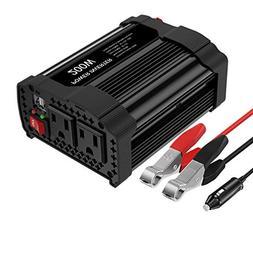 MoKo 200W Car Power Inverter,  DC 12V to 110V AC Converter A