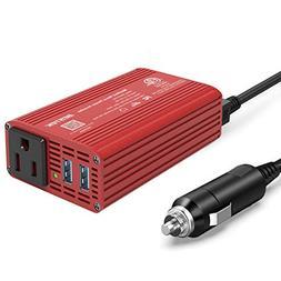 BESTEK 150W Car Power Inverter DC 12V to 110V AC Car Inverte