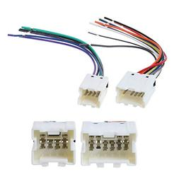 Numkuda Car Radio Stereo CD Player Wire Wiring Harness Insta