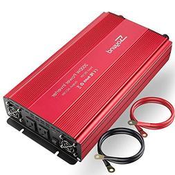 soyond 2000W Car RV Power Inverter DC 12V to 110V 120V 2 AC