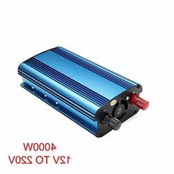 Ywillink 4000W Car Solar Power Inverter DC 12V to AC 220V Mo
