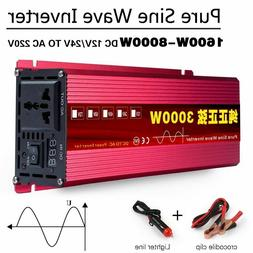 Car Voltage Transforme Inverter Pure Sine Wave Solar Power C