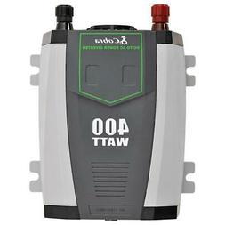 Cobra CPI 490 Refurb Compact 400 Watt Power Inverter W/ Cabl