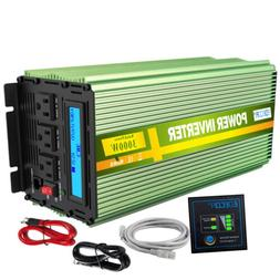 3000W 6000W 12V dc to  220V ac  Car Power Inverter with LCD