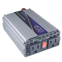 400w / 800watt 12v DC vdc to 110 vac 120 v volt AC car truck