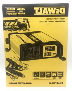 DEWALT DXAEPI1000 Power Inverter 1000W Car Converter with LC