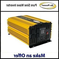 Go Power GP-3000HD 3000 Watt Heavy Duty Modified Sine Wave I