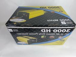 Go Power! GP-3000HD Heavy-Duty Modified Sine Wave Inverter -