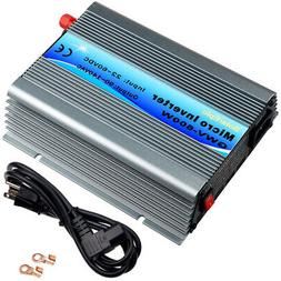 600W Grid Tie Inverter 110V Use For 24V/36V Solar panel Pure