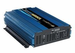 Heavy Duty 2300-Watt Power Inverter 12-Volt DC to AC 110-Vol
